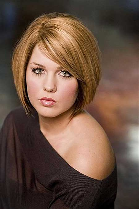Hair Styles For Round Faces 30 Best Short Hairstyles For Round Faces  Short Hairstyles 2016 .