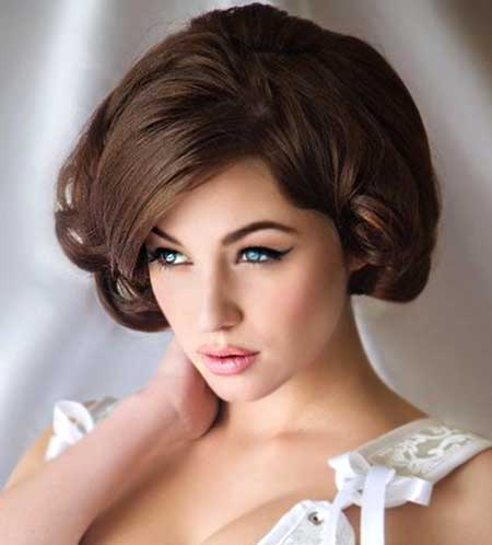 Pleasant Short Hair Wedding Styles Short Hairstyles 2016 2017 Most Hairstyle Inspiration Daily Dogsangcom