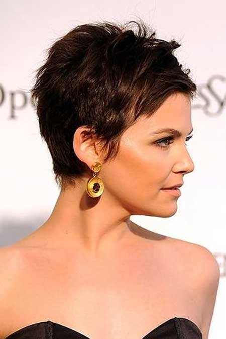 Elegant And Attractive Pixie Cut With Cool Layers And Awesome Top Section.  Short Pixie Haircuts