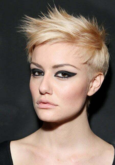 Terrific Short Blonde Pixie Hairstyles 2013 2014 Short Hairstyles 2016 Hairstyles For Men Maxibearus