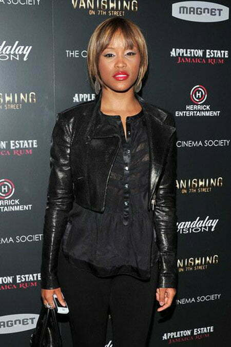 Short Straight Hair Styles for Black Women