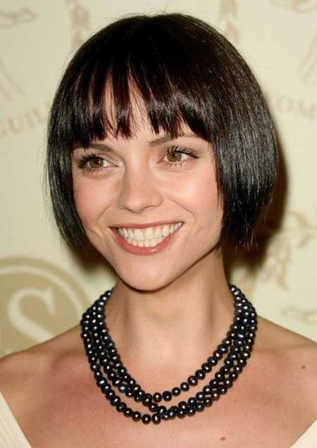 Short Straight Hairstyles 2013–2014_13