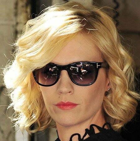 Short Wavy Celebrity Hairstyles
