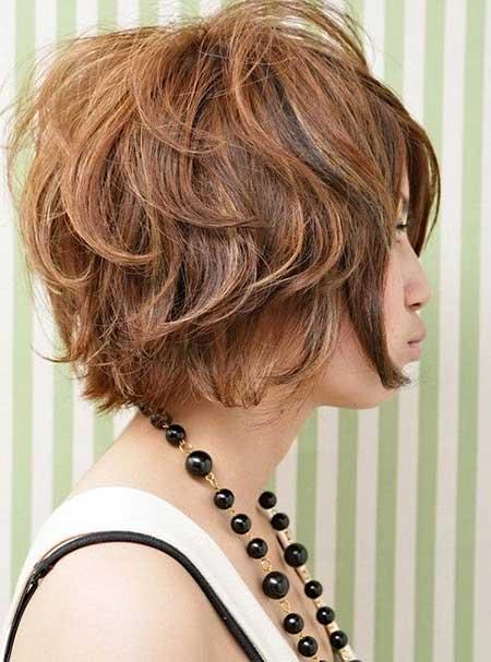 Short Wavy Hair Ideas_5