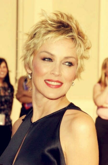 Trendy Celebrity Short Hairstyles