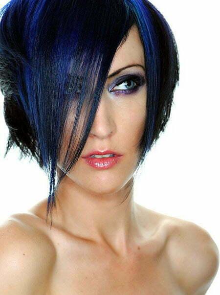 Trendy Short Asymmetrical Haircut