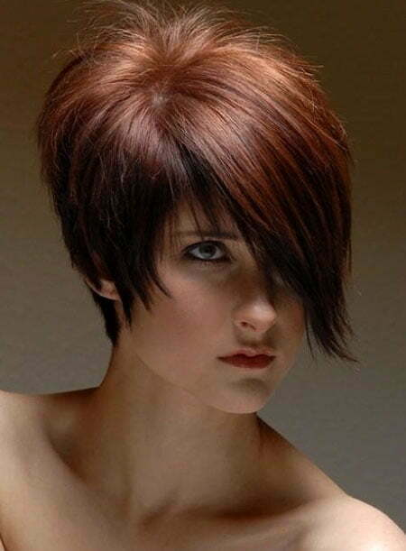 Trendy Short Hair With Bangs