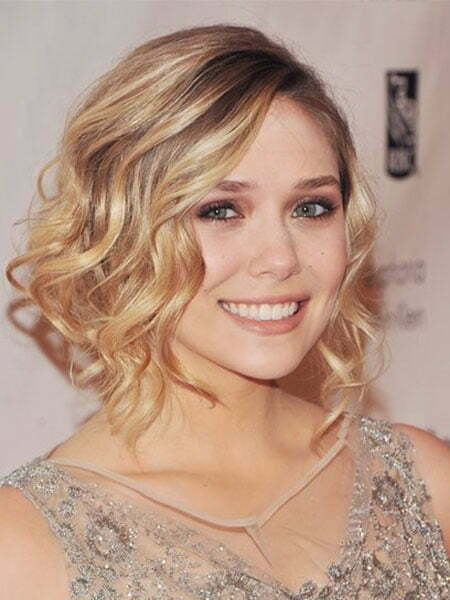 Bridal Hairstyles For Short Wavy Hair