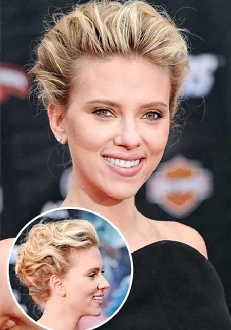 Astounding Wedding Hairstyles For Short Hair 2014 Short Hairstyles 2016 Short Hairstyles Gunalazisus
