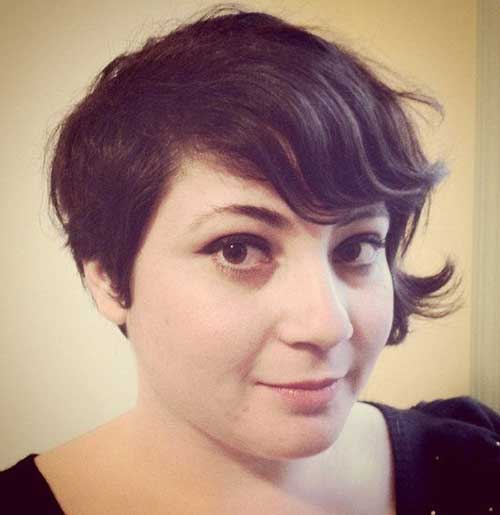 Asymmetrical Pixie Hairstyles for Girls