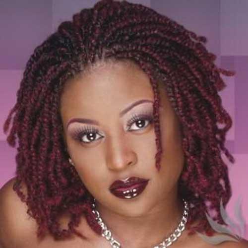 Strange Braids For Black Women With Short Hair Short Hairstyles 2016 Hairstyles For Women Draintrainus