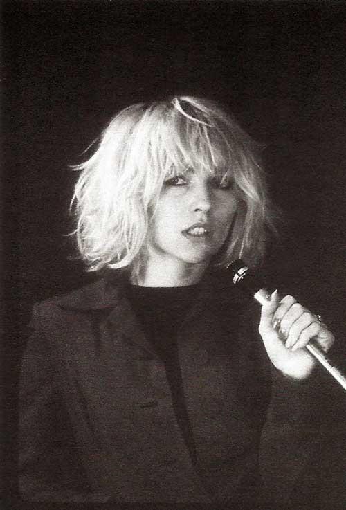Debbie Harry Hairstyles 2015