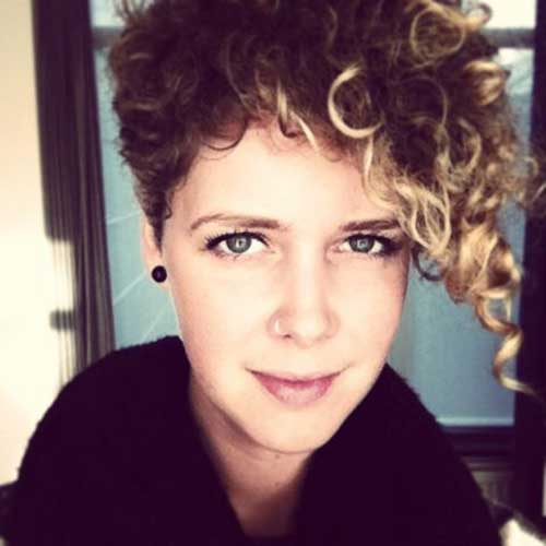 20 Curly Asymmetrical Pixie Hairstyles