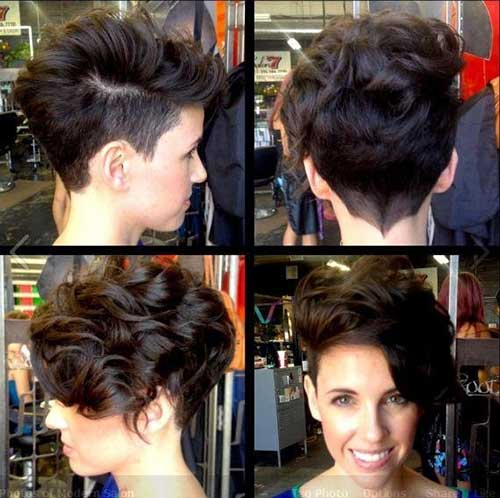 Short Hair with Asymmetric Undercut Idea