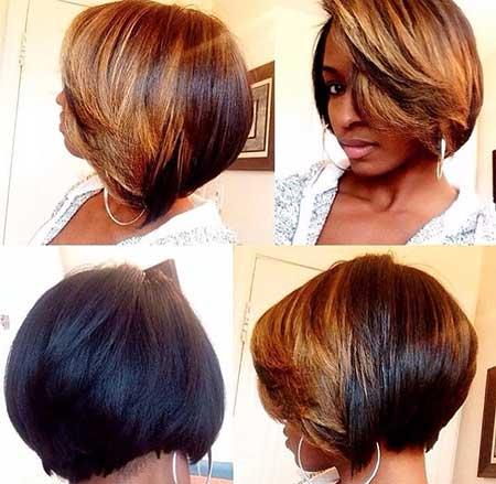 Groovy 20 Short Bob Hairstyles For Black Women Short Hairstyles 2016 Short Hairstyles Gunalazisus