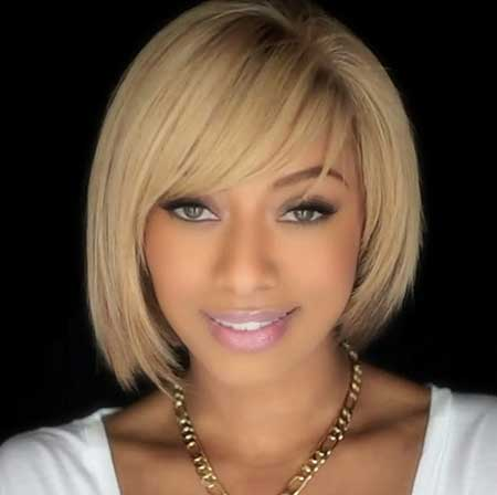 Magnificent 20 Short Bob Hairstyles For Black Women Short Hairstyles 2016 Hairstyles For Men Maxibearus