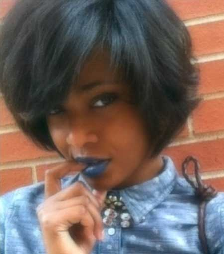 Excellent 20 Short Bob Hairstyles For Black Women Short Hairstyles 2016 Hairstyles For Women Draintrainus