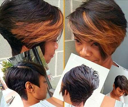 Terrific 20 Short Bob Hairstyles For Black Women Short Hairstyles 2016 Short Hairstyles Gunalazisus