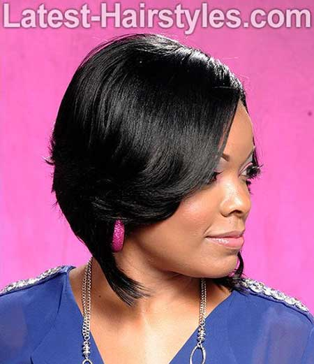 Awesome 20 Short Bob Hairstyles For Black Women Short Hairstyles 2016 Hairstyles For Men Maxibearus