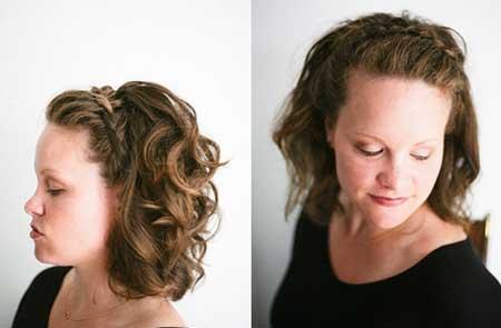 20 Short Braided Hairstyle
