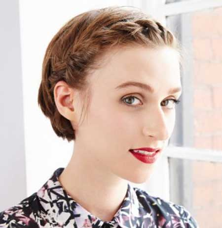 Wondrous 20 Short Braided Hairstyle Short Hairstyles 2016 2017 Most Hairstyle Inspiration Daily Dogsangcom