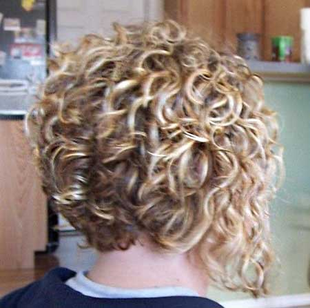 Super Short Haircut for Girls with Curly Hair