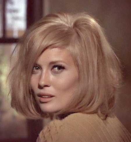 Blonde Vintage Voluminous Bob