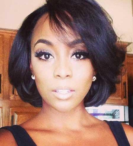 Enjoyable 20 Short Bob Hairstyles For Black Women Short Hairstyles 2016 Hairstyles For Men Maxibearus