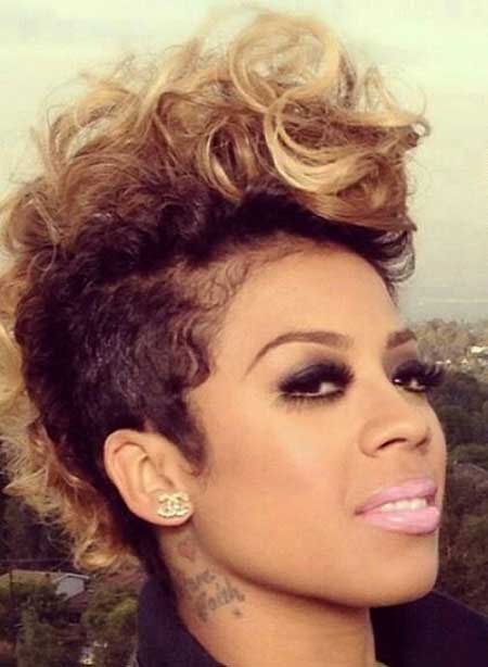 Astounding Short Hairstyles Black Hair 2014 2015 Short Hairstyles 2016 Hairstyles For Women Draintrainus