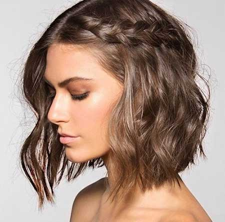 Awesome 20 Short Braided Hairstyle Short Hairstyles 2016 2017 Most Hairstyle Inspiration Daily Dogsangcom