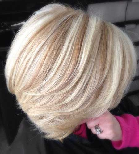 20 cute hair colors for short hair short hairstyles 2016 2017 blonde highlights and lowlights hair idea pmusecretfo Choice Image
