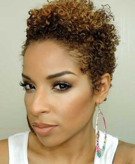 Short Thin Voluminous Light Curls