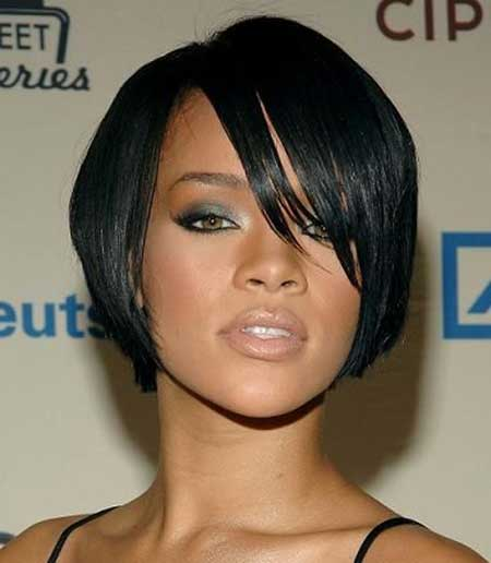 Short Black Hairstyles Bobs