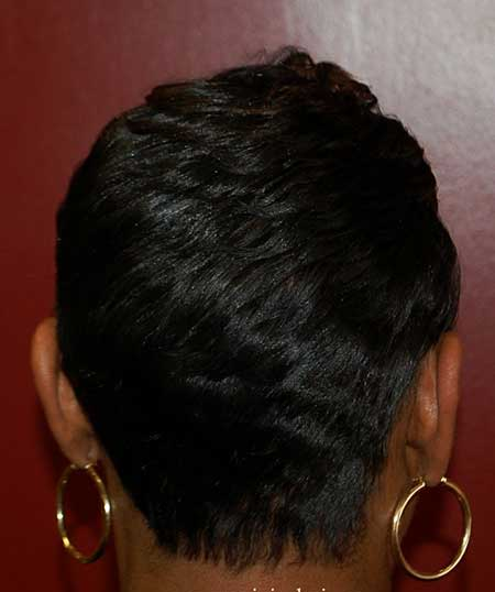 Short Side Layered Hair