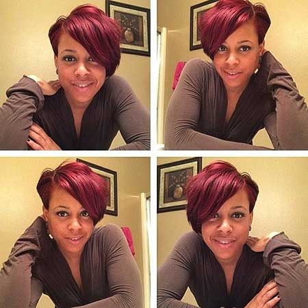Brilliant Short Hairstyles Black Hair 2014 2015 Short Hairstyles 2016 Hairstyles For Women Draintrainus