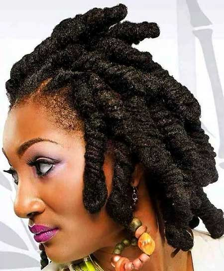 Short Thick Dark Dreads