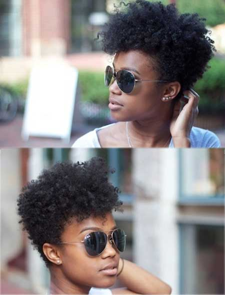 Peachy Hairstyles For Black Women With Short Hair Short Hairstyles 2016 Short Hairstyles Gunalazisus