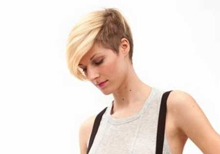 Short Blonde Extreme Pixie
