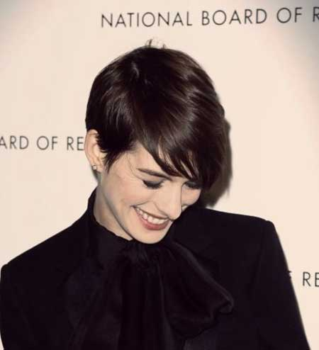 Elegant Beautiful Straight Pixie