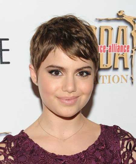 Cute Interesting Pixie Style