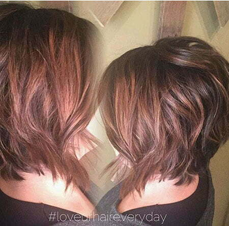 Short Hair Colors Short Hairstyles 2015 2016 Most Popular Short Dark Brown