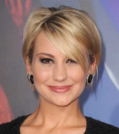 Short Straight Nice Simple Blonde Bob