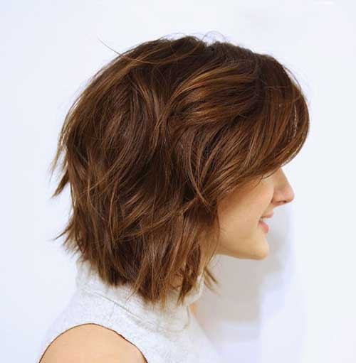 Marvelous 20 Short Hairstyles For Wavy Fine Hair Short Hairstyles 2016 Short Hairstyles Gunalazisus