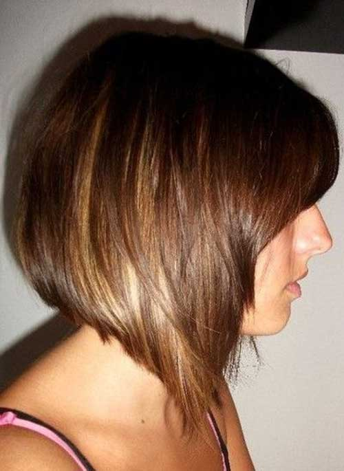 Swing Bob with Brown Shades Highlights