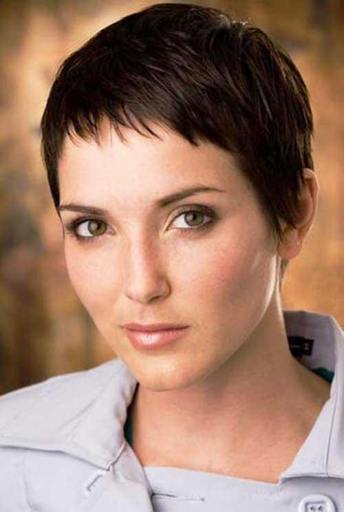 Cute Short Pixie Haircut for Women