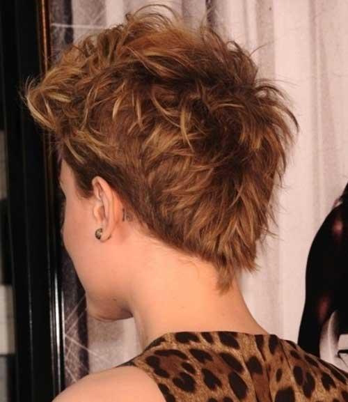 Short Pointy Messy Hair