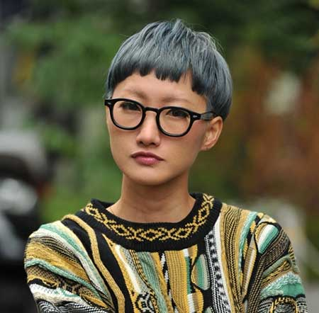 Asian Short Hairstyles 2015