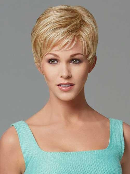 Blonde Pixie Cut for Thin Hair