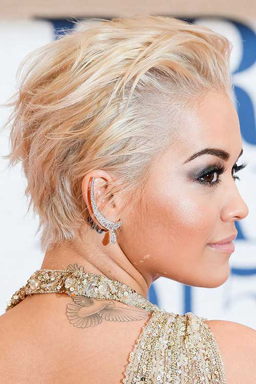 Classy Pixie Crop Hairstyles