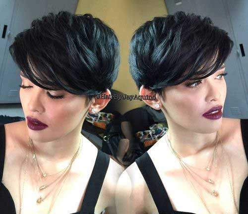 Cute Hairstyles for Girls with Short Dark Hair